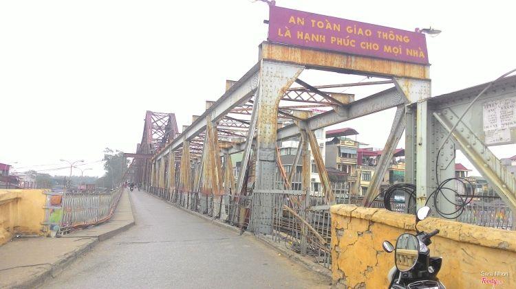 Cầu Long Biên ở Hà Nội