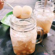 chè sen nhãn nước dừa