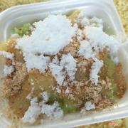 Xôi lá dứa nước cốt dừa