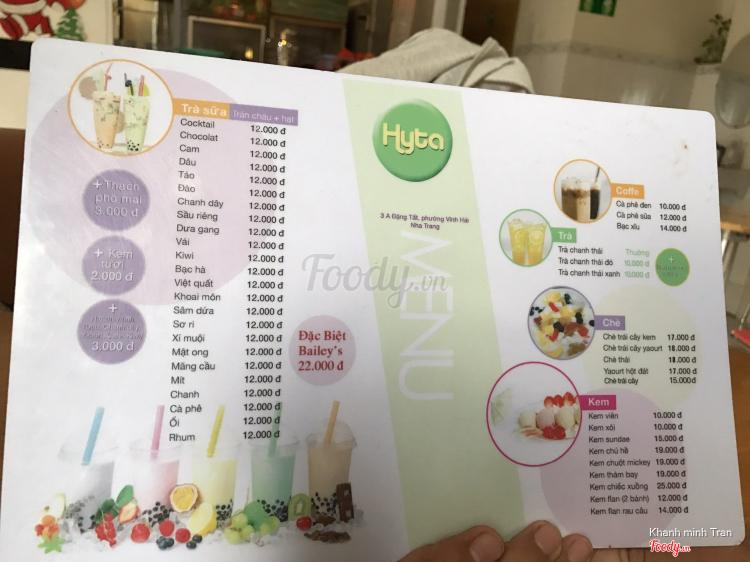 Hyta Bakery & Drinks ở Khánh Hoà