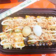 Bánh tráng cuộn sốt Mayonaise20k