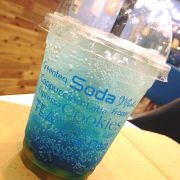 Soda blue curacao