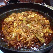 Chảo thịt gà xào bắp cải to ự