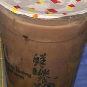 Trà sữa chocolate trân châu + pudding trứng