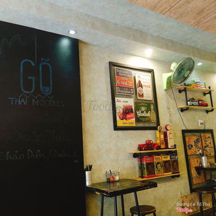 Gõ Thái Noodles - Mì Thái - Nguyễn Trãi ở TP. HCM
