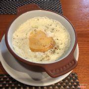 Trứng bỏ lò - set lunch appetizer