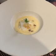 Trứng tart kiểu Pháp- dessert set lunch