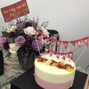 Eden rose mousse cake