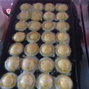 Takoyaki nhân phô-mai trứng muối