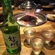 Combo nướng hấp dẫn cùng rượu soju
