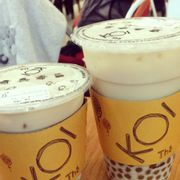 Caramel milktea with bubble