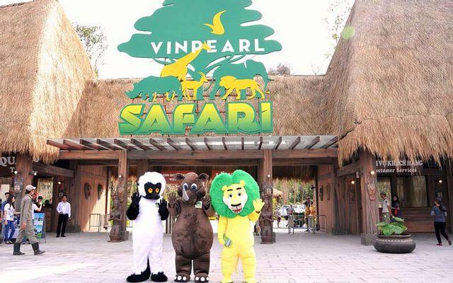 Vinpearl Safari - Vườn Thú Hoang Dã