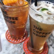 Trà đào cam sả * trà thảo mộc bạc hà