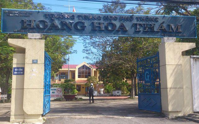 Trường THPT Hoàng Hoa Thám