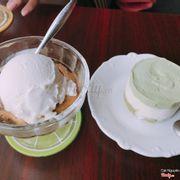 Cafe kem + bánh