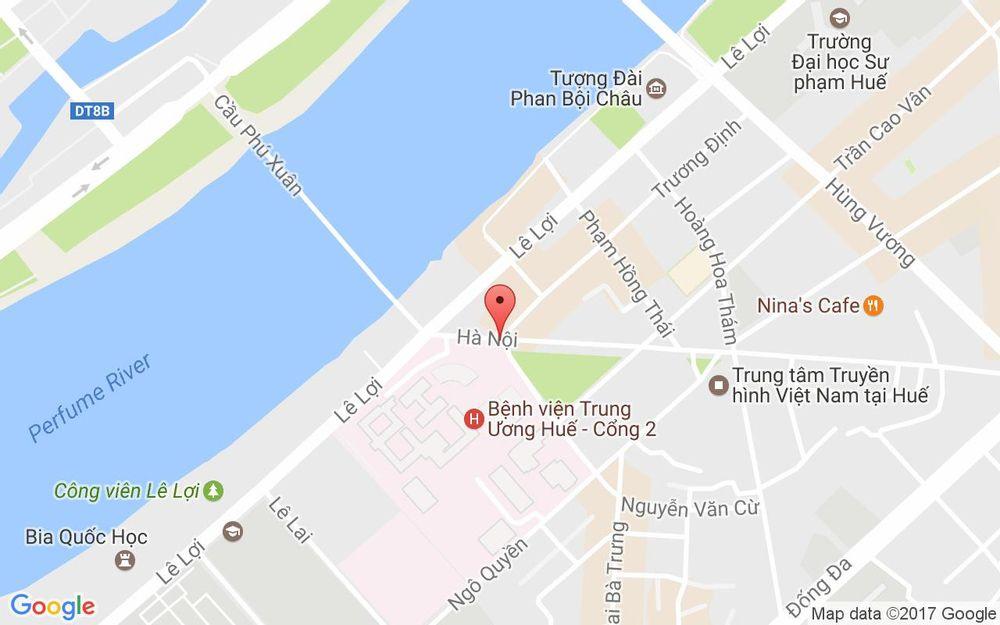 Vị trí bản đồ Hoa Tươi Thiên Thu ở Huế