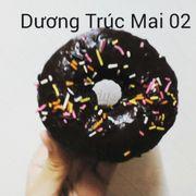 Bánh donut chocolate