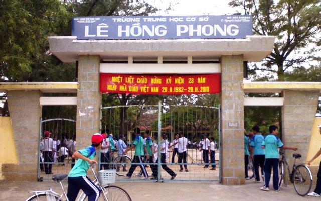 Trường THCS Lê Hồng Phong