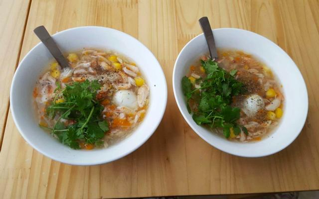 Súp Cua Hoa - Ô Chợ Dừa