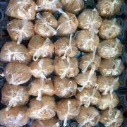 Bánh tráng tỏi được giao đi với số lượng lớn