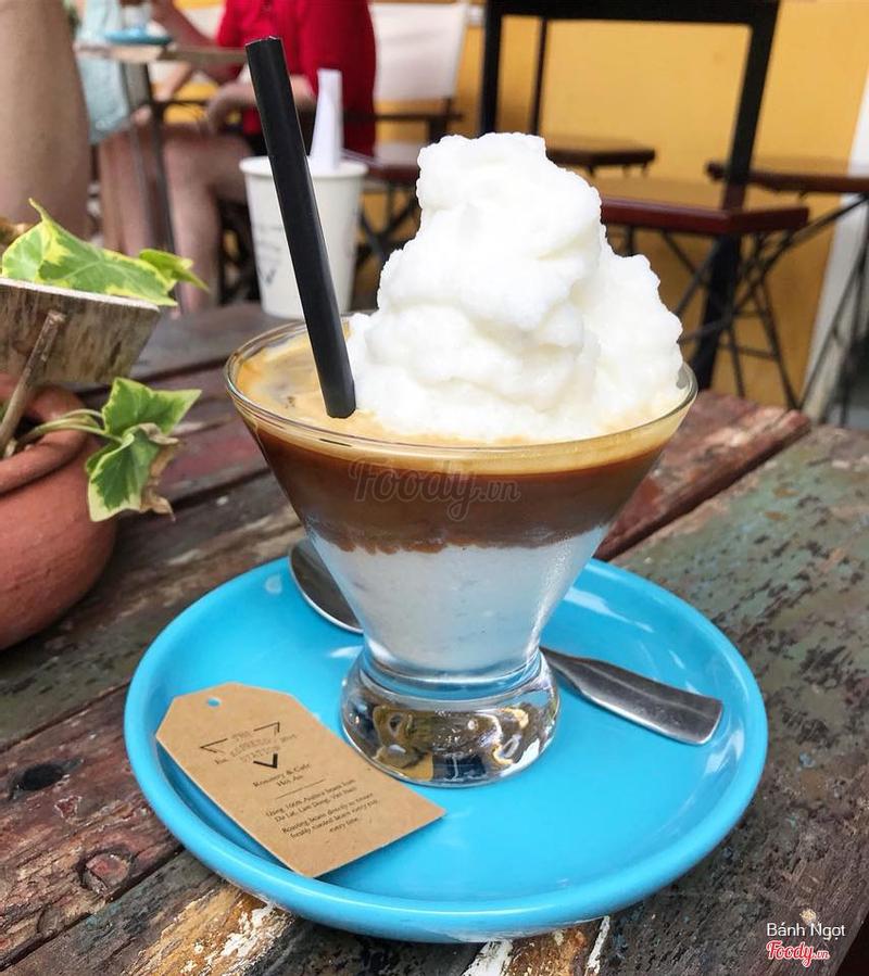 Cafe cốt dừa
