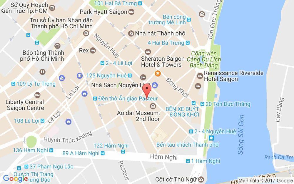 Vị trí bản đồ 99 Nguyễn Huệ  Quận 1 TP. HCM