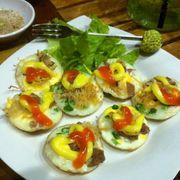 Trứng cút thập cẩm thơm ngon béo ngậy - 12K ^^