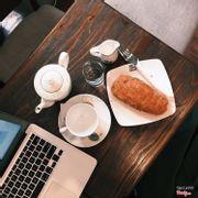Trà và bánh ruốc phô mai