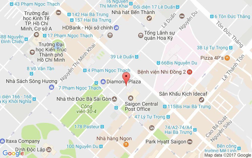 Vị trí bản đồ Nguyễn Văn Bình, P. Bến Nghé Quận 1 TP. HCM