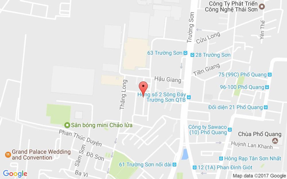Vị trí bản đồ 1/14 Nguyễn Văn Vĩnh, P. 4 Quận Tân Bình TP. HCM