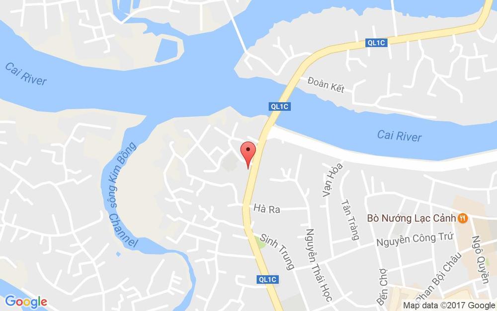 Vị trí bản đồ 1126 Đường 2 Tháng 4, P. Vạn Thắng Tp. Nha Trang Khánh Hoà