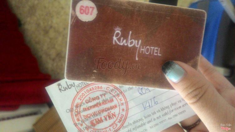 Ruby Hotel ở Cà Mau