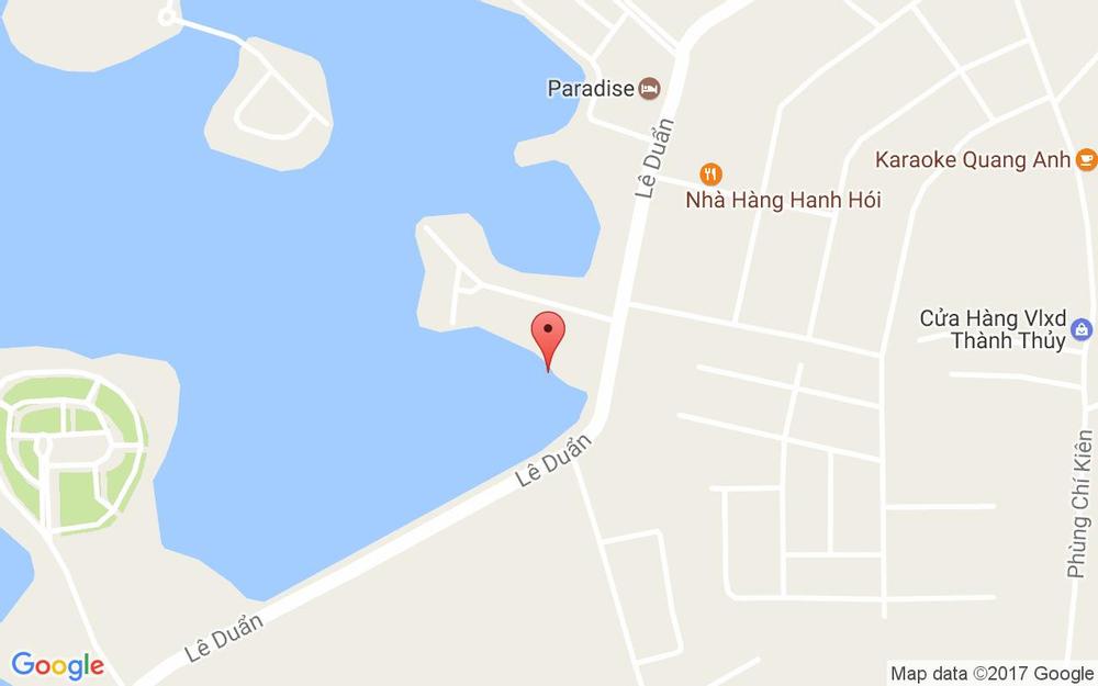 Vị trí bản đồ Paradise Đại Lải Resort ở Vĩnh Phúc