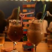 Cafe kem + Cookies  rút gỗ