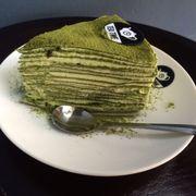 bánh ngàn lớp vị trà xanh