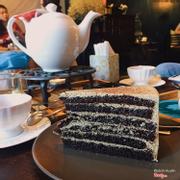 Earl grey chocolate cake