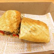 Beef Panini - Bánh mỳ thơm giòn, thịt bò mềm, nước sốt đậm đà