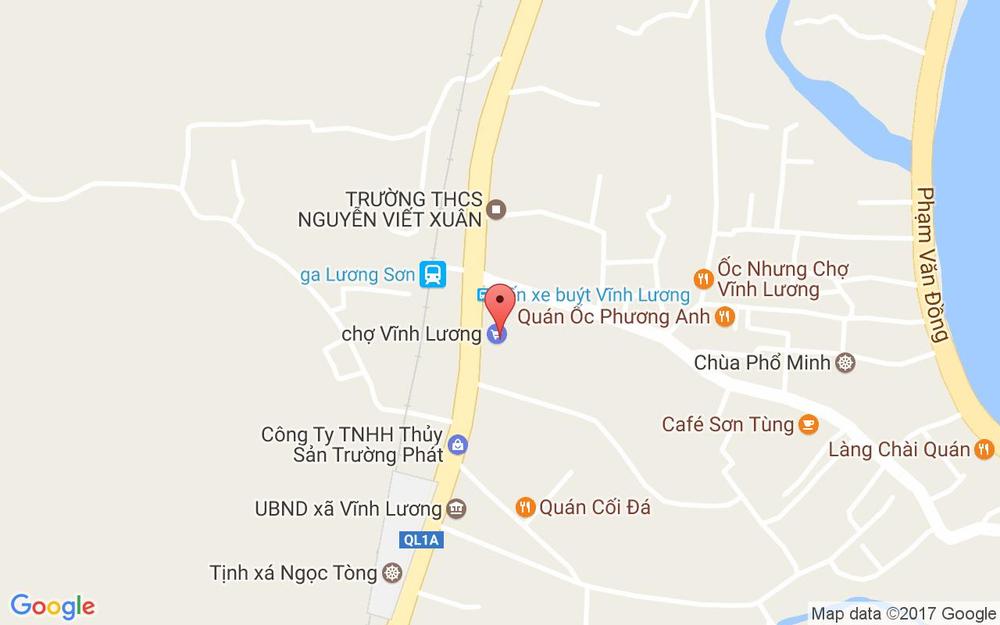 Vị trí bản đồ Thôn Văn Đăng, Xã Vĩnh Lương Tp. Nha Trang Khánh Hoà
