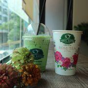 Green tea latte và trà sữa