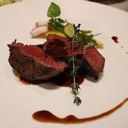 Thăn bò áp chảo ( menu visa platinum)