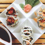 Set sushi giá chỉ 30k