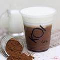 Ovaltine macchiato - Cacao macchiato (S)