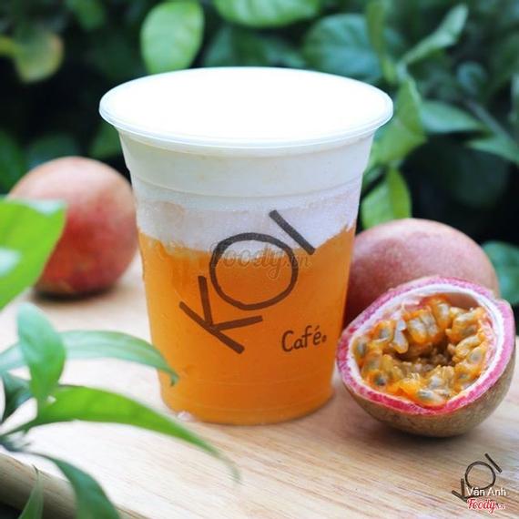 Passion fruit macchiato - Chanh dây macchiato (S)