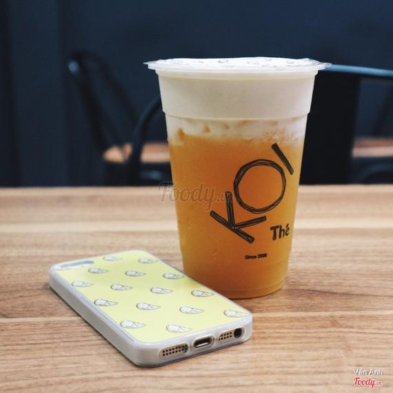 Passion fruit macchiato - Chanh dây macchiato (M)