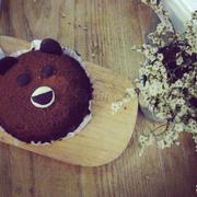 Bánh gấu to đặc ruột.