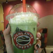 Freeze trà xanh