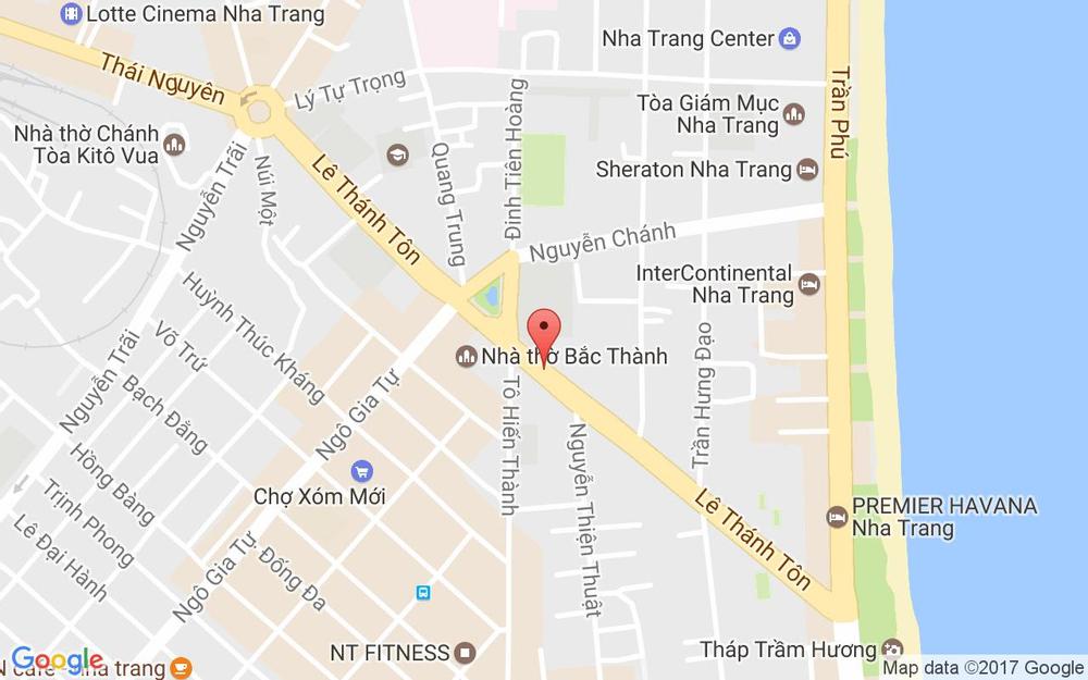Vị trí bản đồ 46/12/3 Lê Thánh Tôn Tp. Nha Trang Khánh Hoà