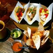 Lunch set taco và trà hoa cúc  145k