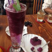 Blueberry soda da xay