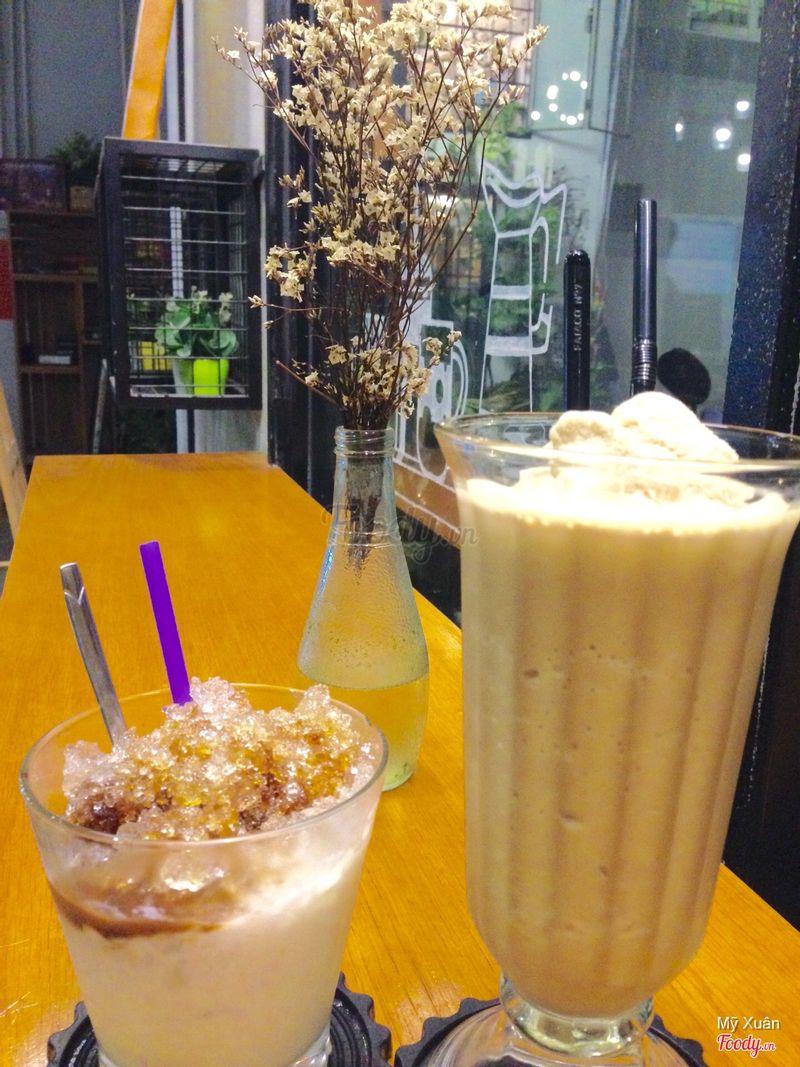 Yogurt cafe và cafe đá xay